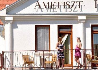 Pezsdítő nyár Harkányban - 3 éj, 1 fő részére az Ametiszt Hotelben
