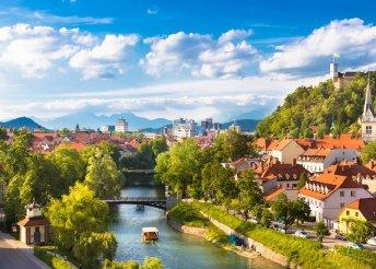 8 napos nyaralás 1 főre Szlovéniában, félpanzióval, Ljubljanaban