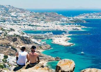 8 napos nyaralás 2 személyre, Míkonosz, Anamar Blu 4*, reggelivel, repülőjeggyel, illetékkel