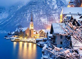 3 napos adventi kirándulás Ausztriában, a Salzkammerguti-tavak vidékén, buszos utazással, reggelivel