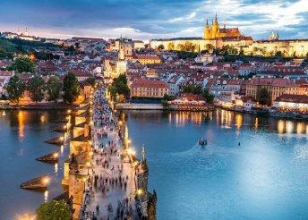 4 nap Csehországban, városnézés Prágában, Karlovy Vary-ban és Kutna Horában
