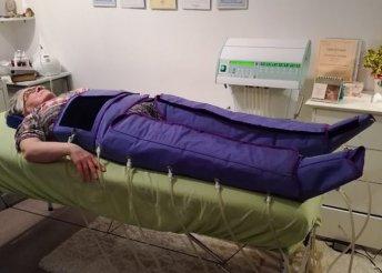 Nyirokrendszeri kezelés orvostechnikai nyomásterápiás eszközzel, 5, 10 vagy 15 alkalommal