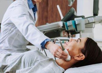 Hasi és pajzsmirigy ultrahang az újpesti Medina Egészségcentrumban