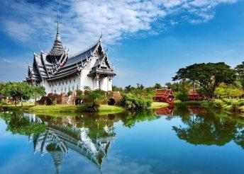 Körutazás Thaiföldön, repülőjeggyel, illetékkel, 3-4-5*-os szállásokkal, belépőkkel, idegenvezetéssel