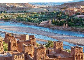 8 napos körutazás Marokkóban, repülőjeggyel, 4*-os szállásokkal, félpanzióval, programokkal