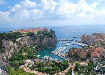 Fények Fesztiválja és Virágok Csatája Nizzában, a francia riviérán