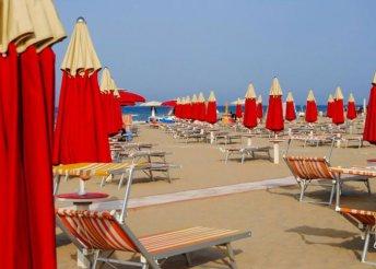 8 napos nyaralás Riminiben, az olasz Adrián, buszos utazással, 3*-os szállással, félpanzióval