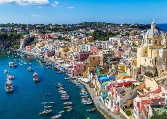 8 napos olasz nyaralás a Sorrentói-félszigeten, buszos utazással, reggelivel, 3*-os szállással