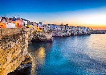 9 napos körutazás és nyaralás Pugliában, busszal, reggelivel, 3*-os szállással