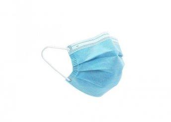 50 db egyszer használatos, 3 rétegű, egészségügyi maszk gyerek méret