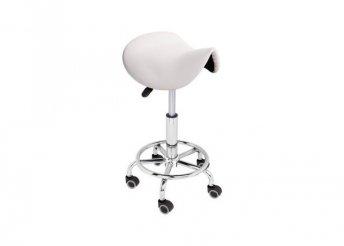 Nyerges, gurulós kozmetikai szék, 2 színben