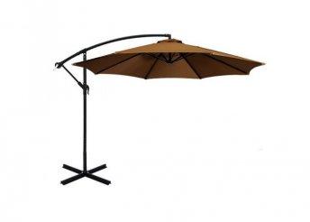 Függő napernyő, 2,7m - kheki