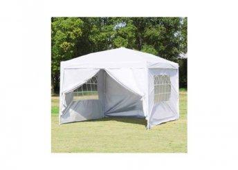 Party sátor fehér színben - 3 x 3 méter