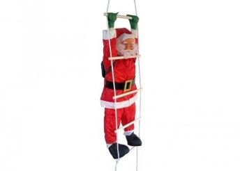 Létrán mászó Mikulás, 120 cm