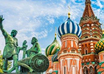 Körutazás a Baltikumban, városnézés Szentpéterváron és Moszkvában, repülőjegyekkel
