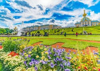 8 nap az orosz cárok fővárosaiban, Moszkvában és Szentpéterváron, repülőjeggyel, illetékkel, reggelivel