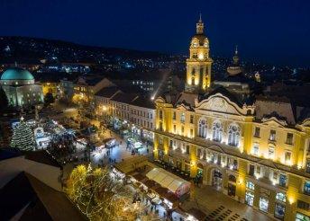 4 napos karácsonyi kiruccanás Pécsett és a Dunántúli-dombságon, busszal, félpanzióval