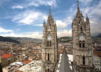 13 napos körutazás Kolumbiában és Ecuadorban, repülőjeggyel, illetékkel, 3-4*-os szállásokkal