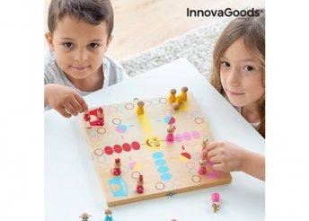 Fa társasjáték állatokkal Pake InnovaGoods 18 darabos