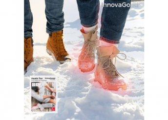 Lábmelegítő betét Heatic Toe InnovaGoods (10 Darab)