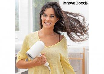 Összecsukható ionos hajszárító és kiegészítők Ventio InnovaGoods 1600W Fehér/szürke