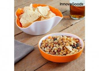 InnovaGoods Snack Tál 2 az 1-ben