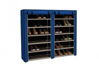 Mobil cipőtároló szekrény - kék