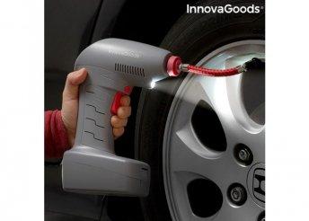 Hordozható légkompresszor LED-es lámpával. Airpro+ InnovaGoods