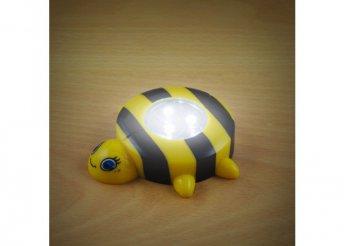 Nyomógombos lámpa - méhecske
