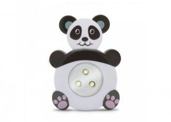 Nyomógombos lámpa - panda