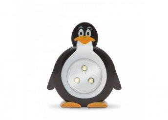 Nyomógombos lámpa - pingvin
