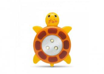 Nyomógombos lámpa - teknős