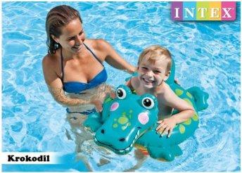 Intex krokodilos úszógumi 3-6 éves gyerekeknek