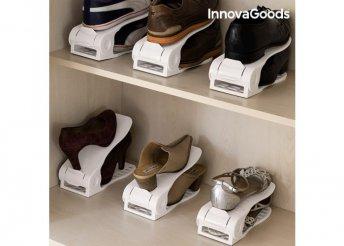 Állítható Cipőtartó 6 pár cipőhöz