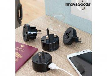 Univerzális utazó csatlakozó adapter