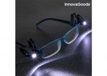 Szemüvegre csíptethető 360º-os LED (2 db)