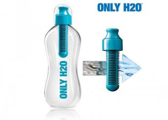 Only H2O palack szénszűrővel