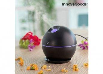 Mini aroma diffúzor párásító (fekete)