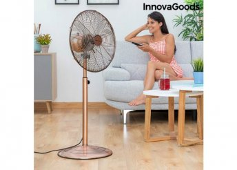 Retro réz álló ventilátor