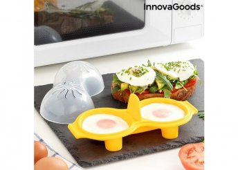 Dupla szilikon tojásfőző