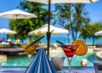 5 vagy 6 napos nyaralás 2 főre a siófoki Prémium Hotel**** Panorámában, félpanzióval