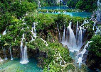 2 napos horvátországi kirándulás a Plitvicei-tavaknál és a tengerparti Rijekában, busszal, reggelivel