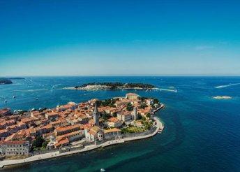 4 napos nyaralás augusztus 20-án is Isztrián, az Adriai-tengernél, busszal, reggelivel
