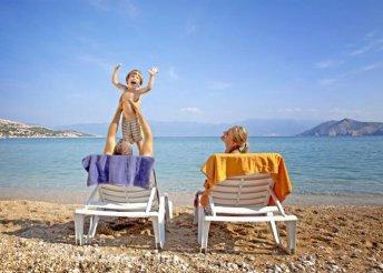 7 napos nyaralás Krk-szigeten buszos utazással, félpanzióval, fakultatív programokkal