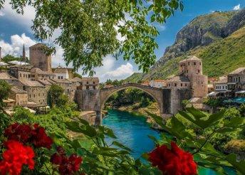 5 napos nyári körutazás Boszniában tengerparti strandolással, buszos utazással, reggelivel