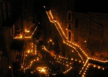 5 napos kaland Rómában és Toszkánában a valleranói Gyertyák Éjszakája idején