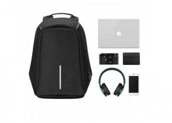 Lopásbiztos hátizsák - fekete
