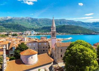 5 napos körutazás Montenegróban busszal, 3*-os szállással, reggelivel