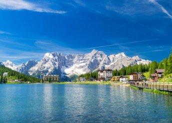 4 napos kirándulás Olaszországban, a Dolomitokban, busszal, reggelivel, 3*-os szállással