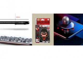 iPhone 6/7/8 Plus 3D Standard Prémium üvegfólia Remax-WK - Fekete